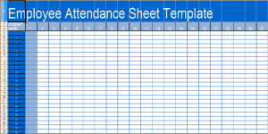 bill pay template daily attendance sheet daily attendance sheet template in excel xls