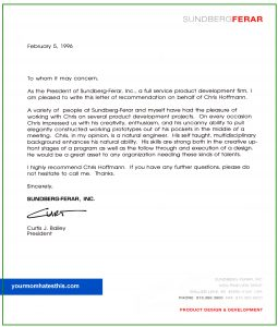biotech cover letter letter of recommendation template