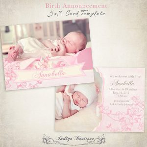 birth announcement template il xn azcr