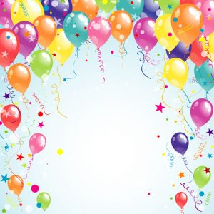 birthday background images balloon ribbon happy birthday background