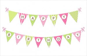 birthday banner template decoration birthday banner template