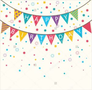birthday banner template simple birthday banner template download