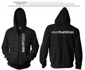 black hoodie template awd tuning hoodie
