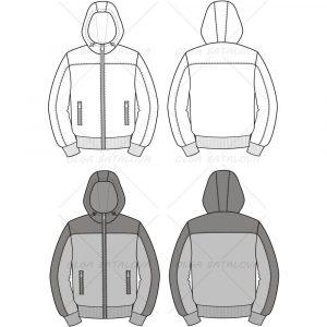 black hoodie template jacket bf eec bdbc fa