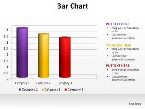 blank bar graph template powerpoint slide designs data driven bar chart ppt template