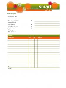blank basic resume templates blank recipe template d