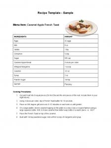 blank basic resume templates sample receipe template d
