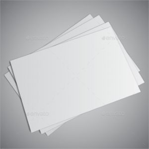 blank business card white blank business card
