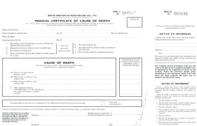 blank check template pdf medical certificate of cause of death