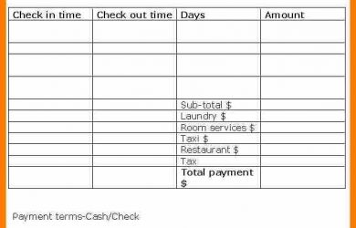blank check templates for microsoft word hotel receipt form blank hotel receipt template