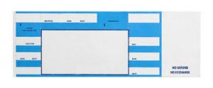 blank coupon template free blue concert ticket blank performance isolated white background
