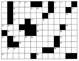 blank crossword puzzle xigpdmyt
