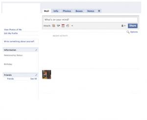 blank facebook page fb edit
