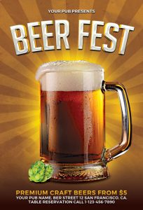 blank flyer templates beer fest flyer template awesomeflyer com