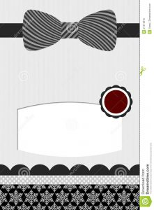 blank id card template bow tie template