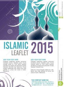 blank id card template leaflet design editable template