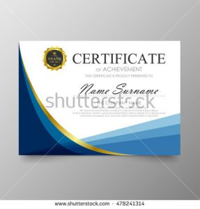 blank id card template stock vector certificate template awards diploma background vector modern value design and luxurious elegant