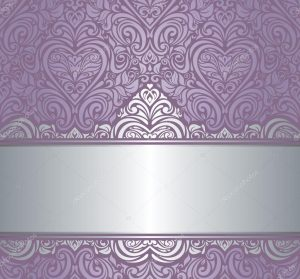 blank invitation templates depositphotos stock illustration silver violet luxury vintage invitation