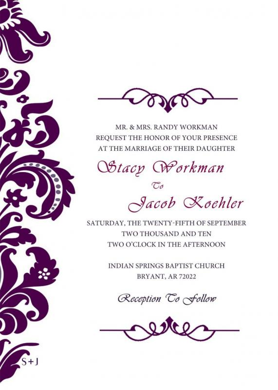 blank invitation templates