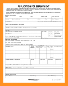 blank job application pdf blank employment application pdf