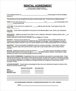 blank money template sample rental agreement template