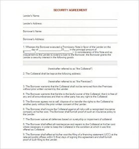 blank promissory note blank promissory note security agreement template