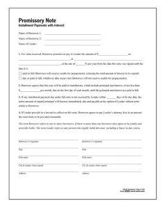 blank promissory note form lf