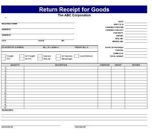 blank receipt form return receipt template image x