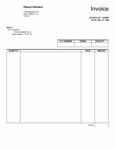 blank rental agreement invoice blank trade agreement template forms invoices to print method of statement lined paper create an plus example receipt business lease x
