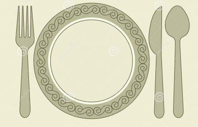 blank restaurant menu template dinner invitation