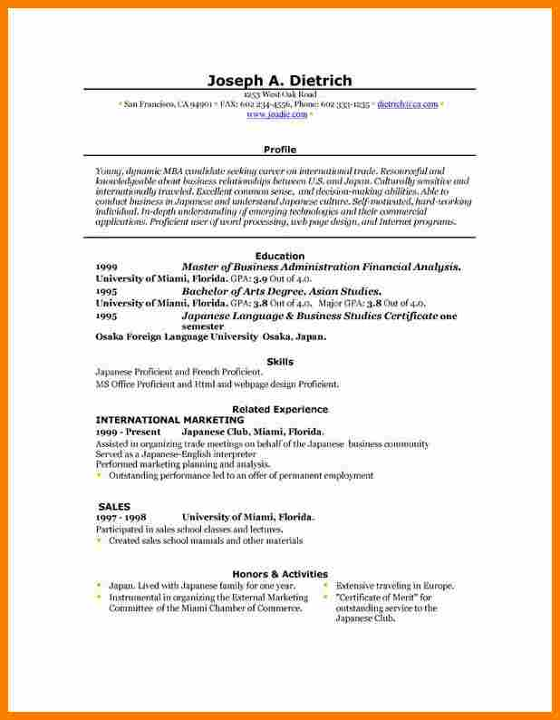 blank resume templates for microsoft word - Blank Resume Templates For Microsoft Word