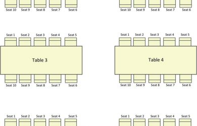 blank seating chart seating chart template