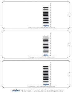 blank ticket template airplane invitations tickets blank
