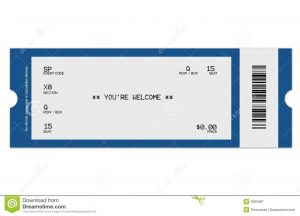 blank ticket template blank football ticket template