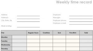 blank time sheets printable blank weekly pdf time sheet form