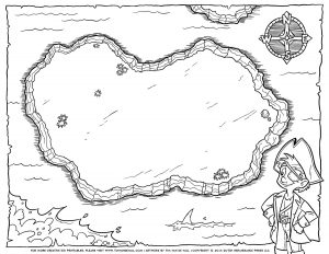 blank treasure map pirate treasure map blank bw