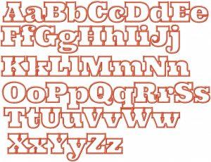 block lettering font alphabet block letters font