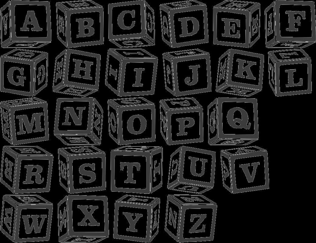 block lettering font