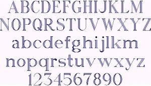 block letters font heavyblock