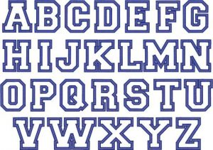 block letters font outline block
