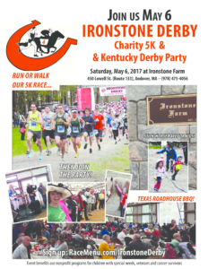 block party flier ironstone derby flier x