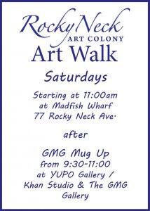 block party flier rnac art walk flier