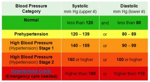 blood pressure record charts chart showing blood pressure types consisting systolic and diastolic