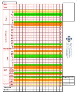 blood pressure record charts rrails