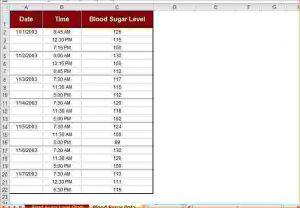blood sugar chart pdf blood sugar chart pdf printable blood sugar chart