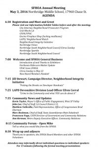 board meeting agenda template sfhoa annual meeting agenda final