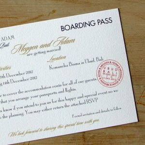 boarding pass invitations boarding pass wedding invitations