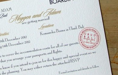 boarding pass invitations boarding pass wedding invitations