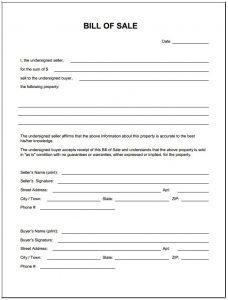 boat bill of sale template free blank bill of sale form pdf template form download within bill of sale template