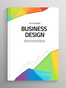 book cover template psd brochure and book cover creative vector